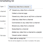 λιστες βιντεο επαναληπτικου μαρκετινγκ στο youtube