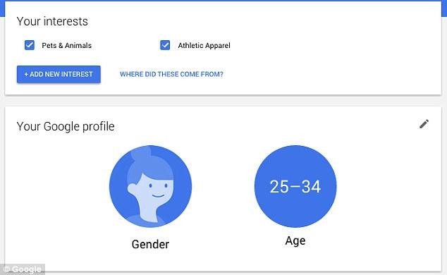 ρυθμισεις διαφημισεων google
